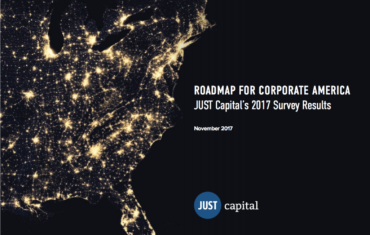 JUST Capital 2017 Survey Report