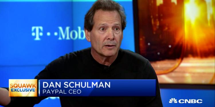 Dan Schulman Paypal CEO